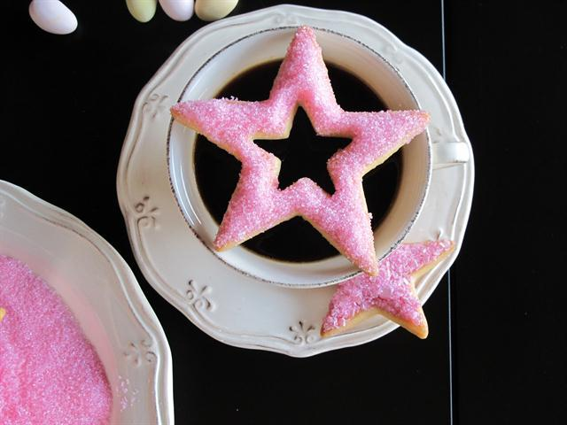 Portakallı yıldız kurabiye tarifi