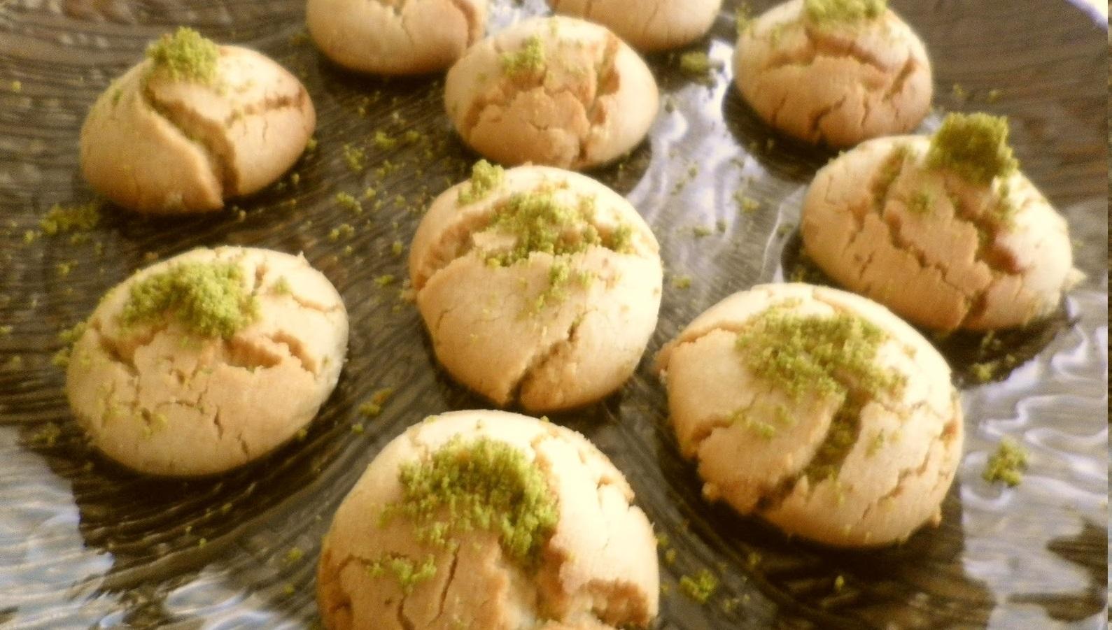 Antep fıstıklı kurabiye tarifi